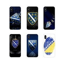 Bosnien und Herzegowina flagge Transparent Soft Cover Tasche Für Apple iPhone X XR XS 11Pro MAX 4S 5S 5C SE 6S 7 8 Plus ipod touch 5 6