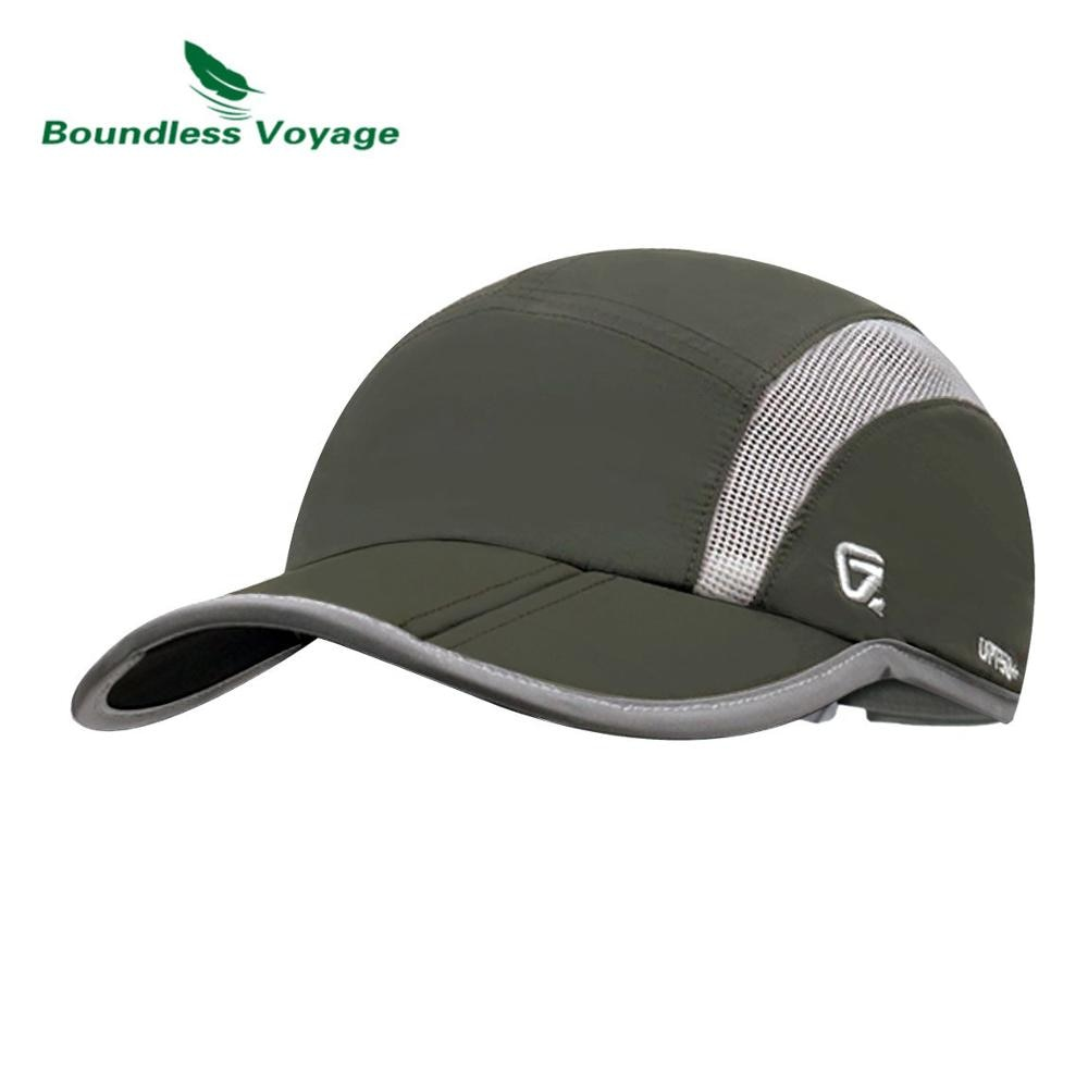 Boundless Voyage Unisex Dad Hat Ultralight Quick-drying Hat Outdoor Sport Baseball Cap Hiking Peaked Cap BVH02