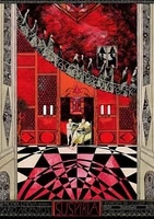 suspiria new classical metal tin signs movies rustic home decor for wall decor 8x12 inches