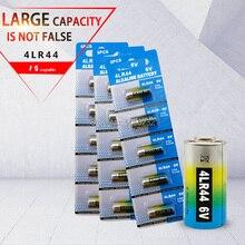 15pcs 6V 150mAh 4LR44 Alkaline battery for Cells Car Remote Watch A544V 4034PX PX28A L1325 544 4A76 4AG13 Dry Batteries