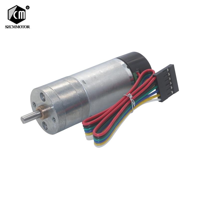 motor da engrenagem do codificador cw ccw da deteccao da saida dos pulsos das fases
