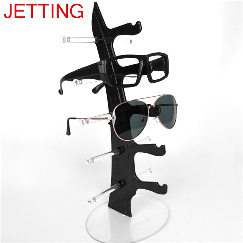 New 16x16x31.5cm Sunglasses Glasses Show Rack Counter Display Stand Holder 5 Layers clear acrylic 3 tier eyeglass sunglasses glasses display stand table counter top retail show holder