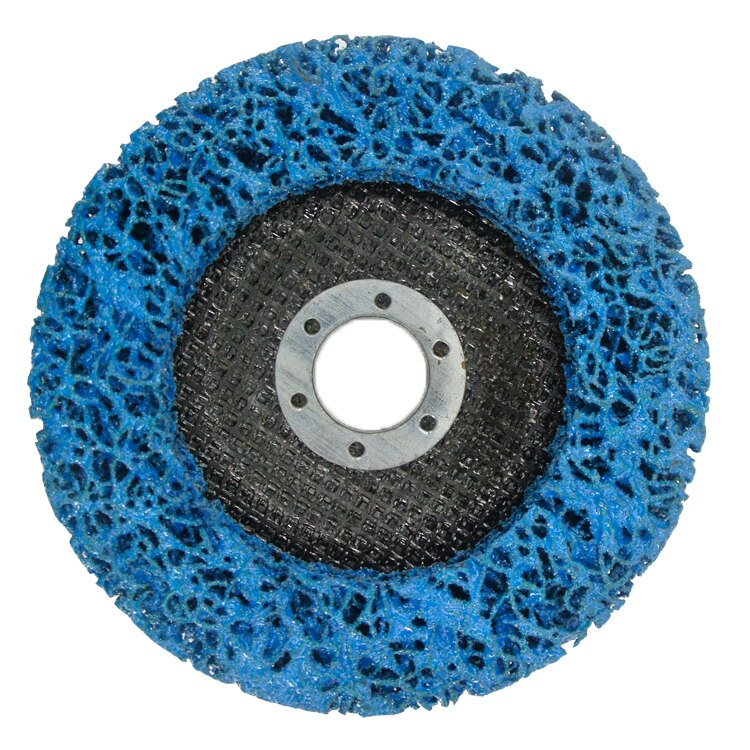 SATC Abrasive Discs 5Inch 125mm Fiberglass Backing Angle Grinder Rust Removal Quick Strip Disc for Polishing enlarge