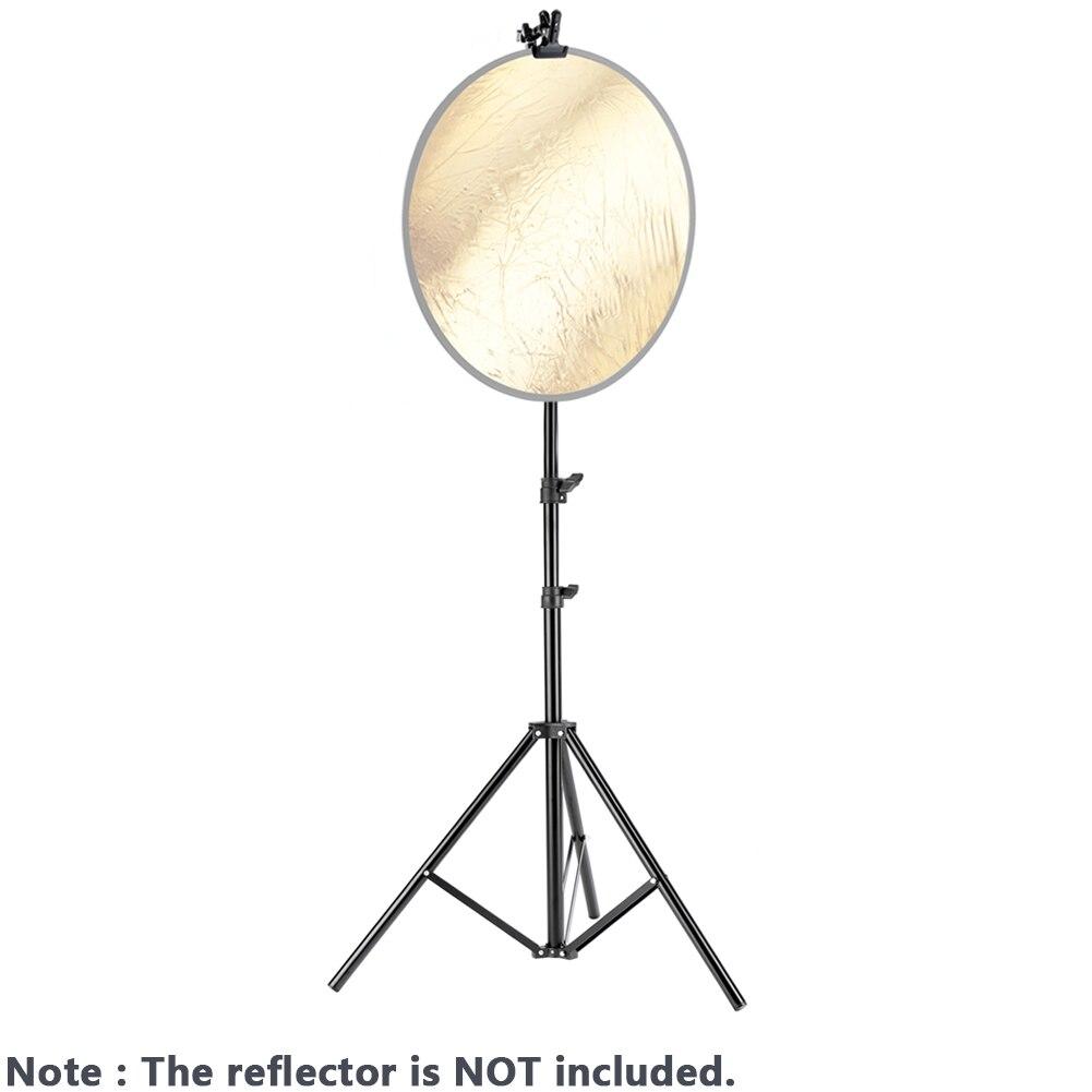 Suporte de Luz com Suporte de Braçadeira de Metal Resistente para Refletores Neewer Centímetros Foto Studio Fotografia 6 Pés – 190