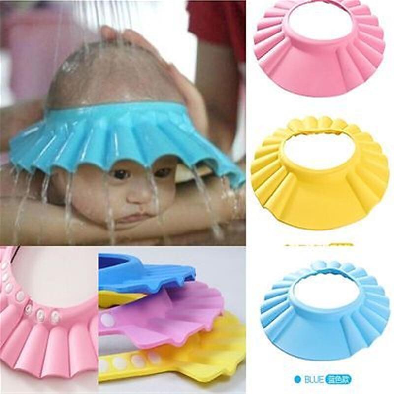 Baby Shampoo Bath Shower Caps Shampooing For Kids Head To Baby Shower Hat For Boys Girls Bathing Caps Toddler Bath Visor