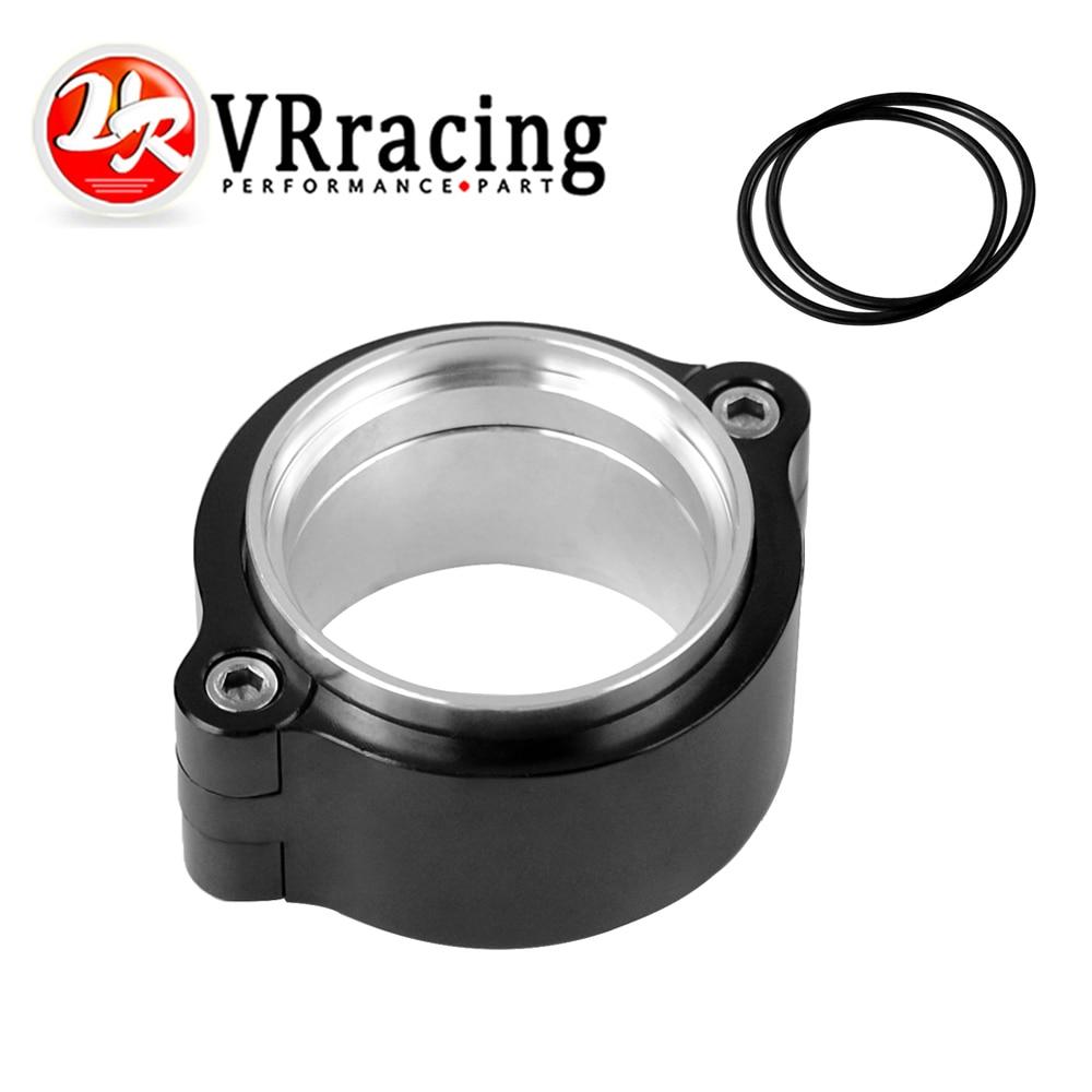 """Rv-exhaust v-band Clamp w Sistema de brida Assenbly anodizado Abrazadera para 2 """"OD Turbo VR-VCE01 de tubo de descarga"""