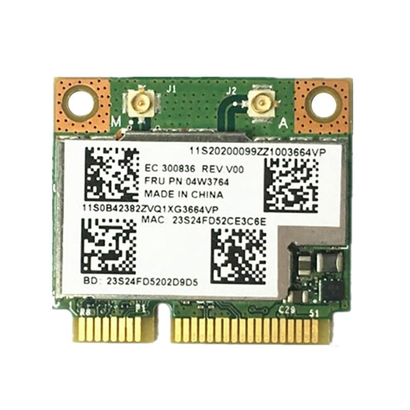 AAAJ-BCM943228HMB 04W3764 WIFI inalámbrico Bluetooth 4,0 de mitad de semestre MINI PCI-E tarjeta compacta para Lenovo E130 E135 E330 E335 E530 E535 E430