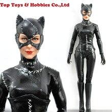 Komplet KUMIK 1/6 K300-3 Batman Catwoman figurka zabawka 12 czarny garnitur głowa ciało kolekcja lalek zabawki prezent