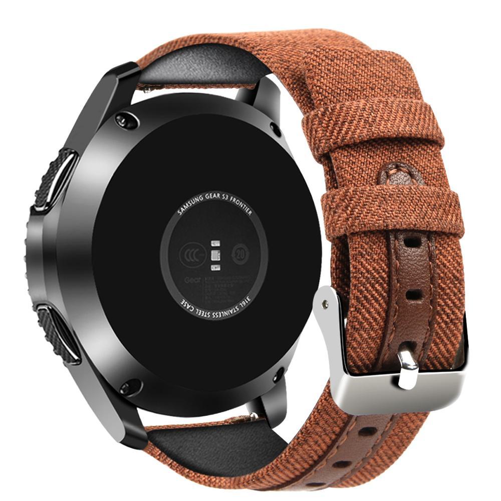Para huawei watch GT 2 GT2 46 Honor Watch Correa mágica pulsera de reloj 22mm correa de reloj de Nylon para samsung gear s3 frontier 46mm