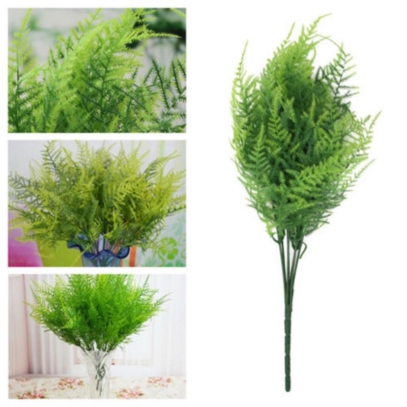 Yapay kuşkonmaz Fern yaprak Ferns ev Cafe ofis bitkiler yeşillik çiçekler dekoratif çiçekler ev ve ofis ve okul