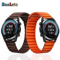 for samsung galaxy watch 46mmgear s3gear s3 frontierclassic smart watch bracelet 22mm magnetic qucik release wristband