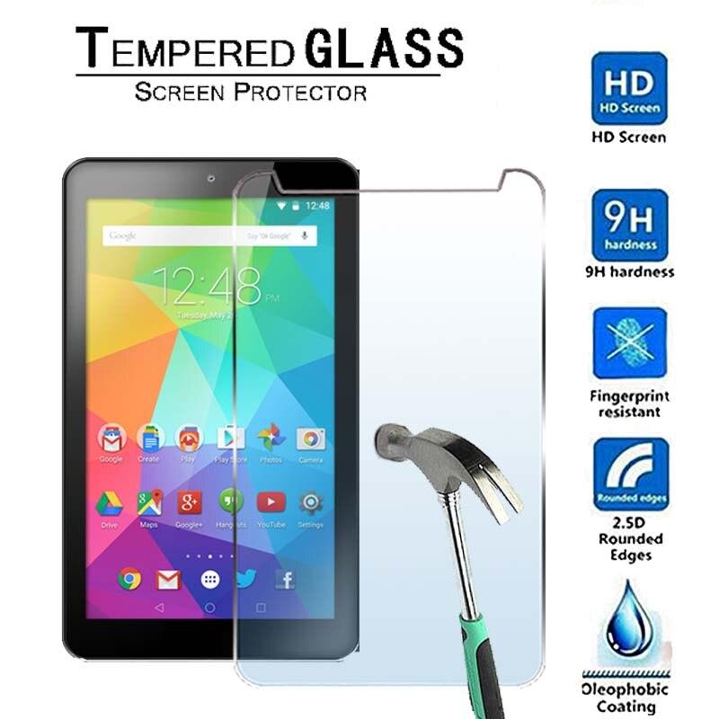 Protector de pantalla de vidrio templado para tableta Premium GoTab Lite GT7 Android Tablet-9H de 7 pulgadas