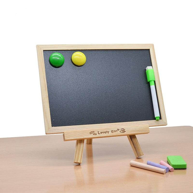 Pizarra magnética con soporte, pizarra magnética, pizarra de doble cara, pizarra para mensajes, escritura, tablón de anuncios, enseñanza de pintura