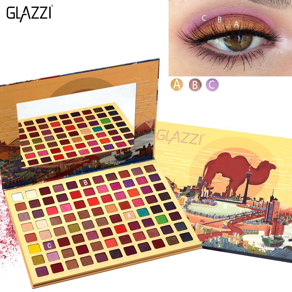 88 Kleur Matte Eyeshadow Palette Glitter Oogschaduw Waterproof Langdurige Make Up Pallet Naakt Shimmer Mode Schoonheid