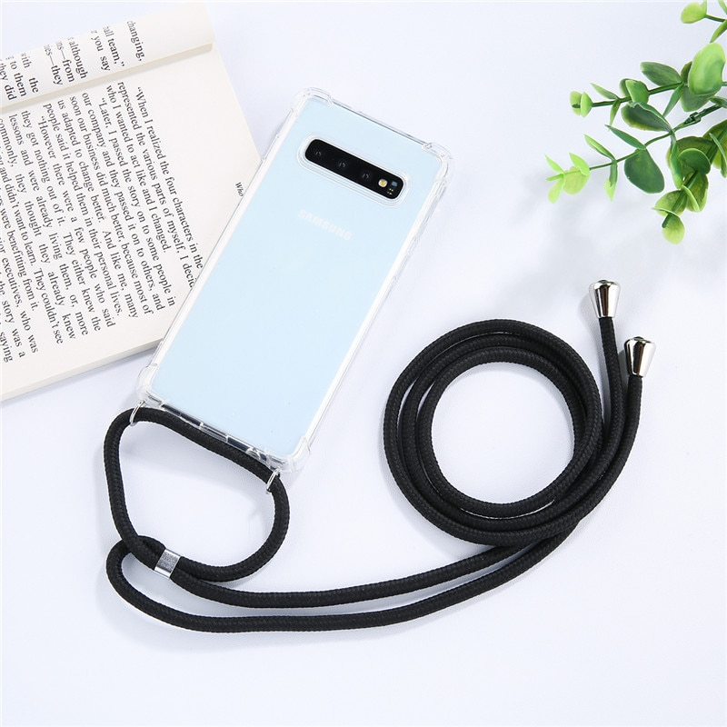 Strap Cord Chain Phone Tape Necklace Lanyard Mobile Phone Case for Carry to Hang For SAMSUNG S10 5G