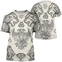 viking t shirts 3d printed t shirt harajuku streetwear t shirts cosplay costumes men for women short sleeve drop shipping