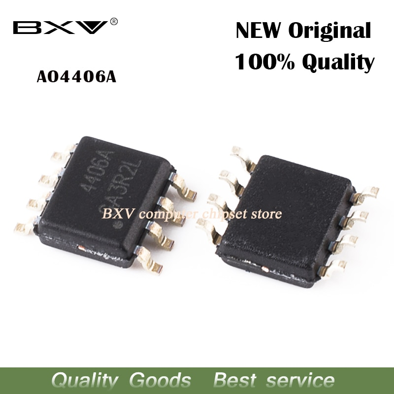 10 Uds AO4406A AO4406 4406A 4406 SOP nuevo original ordenador portátil chip envío gratis
