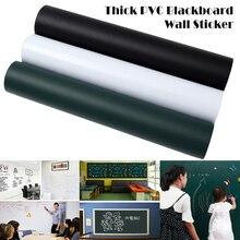 PVC Blackboard Wall Sticker Removable Self Adhesive Chalkboard with Chalks  PR Sale