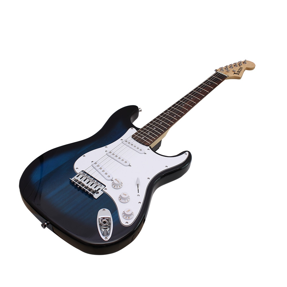 6 String ST Electric Guitar 39 Inch 21 Frets Basswood Body Electric Guitar With Speaker Necessary Guitar Parts & Accessories enlarge