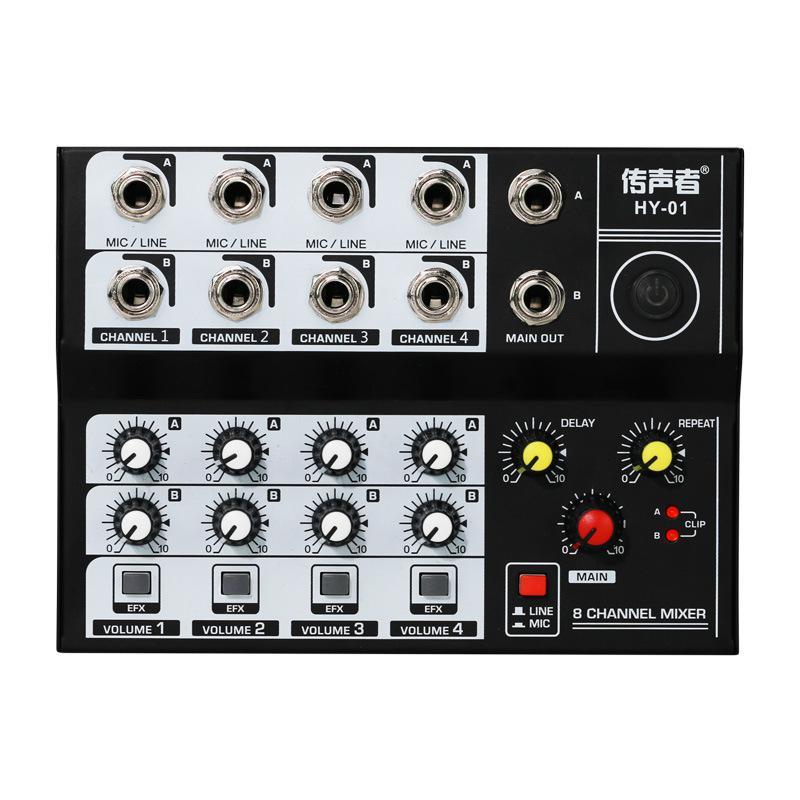 ميكروفون كاريوكي رقمي صغير ، مضخم صوت ، خلاط صوت ، وحدة تحكم ، KTV ، للكمبيوتر العائلي ، الاجتماع