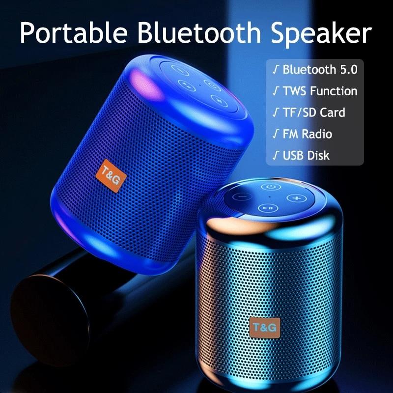 Altavoz Bluetooth con Radio FM, altavoz portátil con tecnología TWS, 2000mAh De...