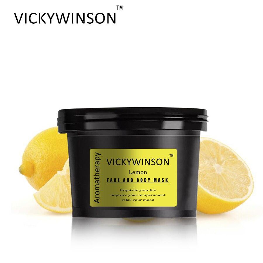 VICKYWINSON Lemon Aromatherapy scrub 50g Facial Scrub Body Exfoliating Scrub Cream Moisturizing Cutin Dead Skin Removal Gel недорого
