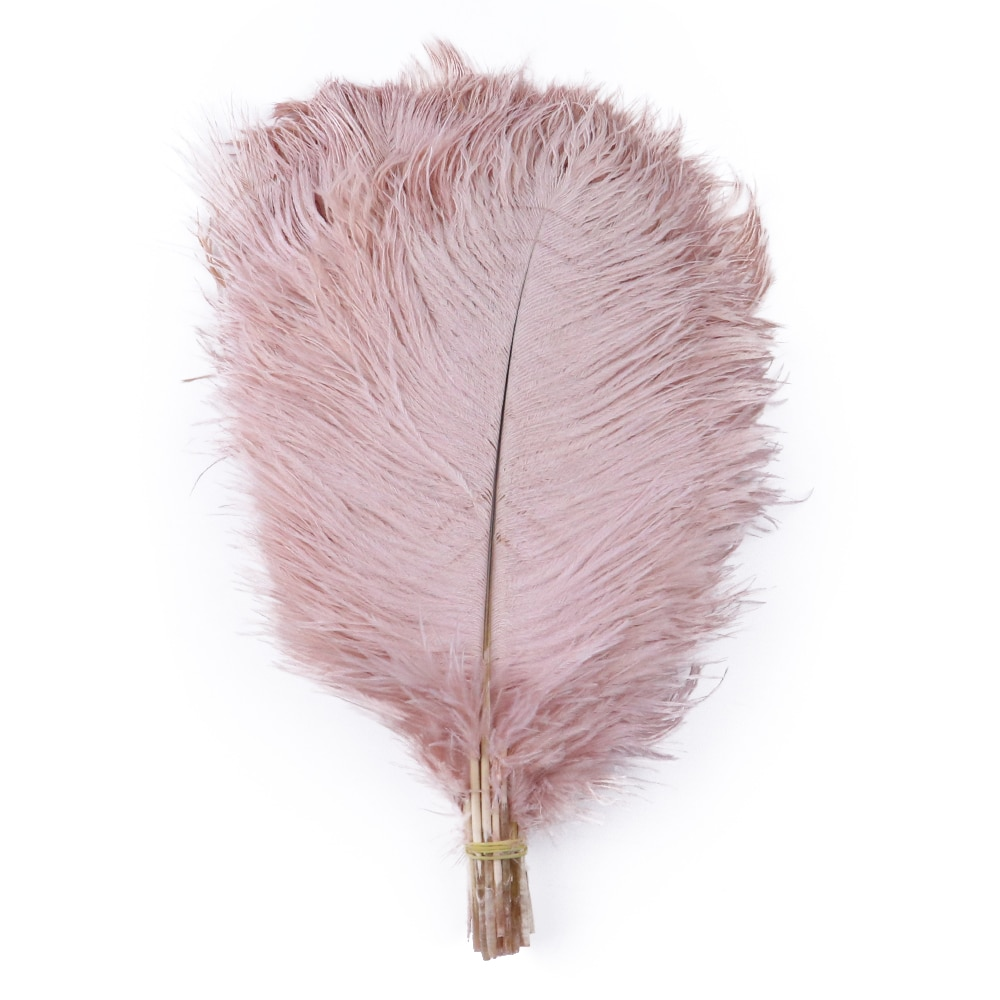 10/100pcs Large Leather Pink Ostrich Feathers for Crafts Wedding Decoration 30-35cm Long Natural Plumes Wholesale wholasale elegant black ostrich feathers for crafts 15 70cm 6 28inch wedding party supplies carnival dancer decoration plumes