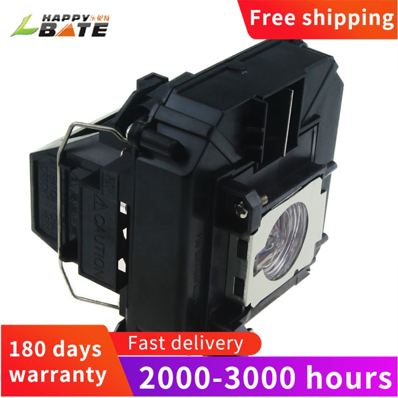 HAPPYBATE ELPLP68/V13H010L68 Projector Lamp for EH-TW5900/EH-TW6000W/EH-TW6100/PowerLite HC3010/PowerLite HC3010E lamp projector