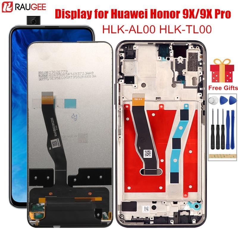 Pantalla táctil para Honor 9X 9 X HLK-AL00/TL00 LCD con marco de repuesto para Huawei Honor 9X Pro China
