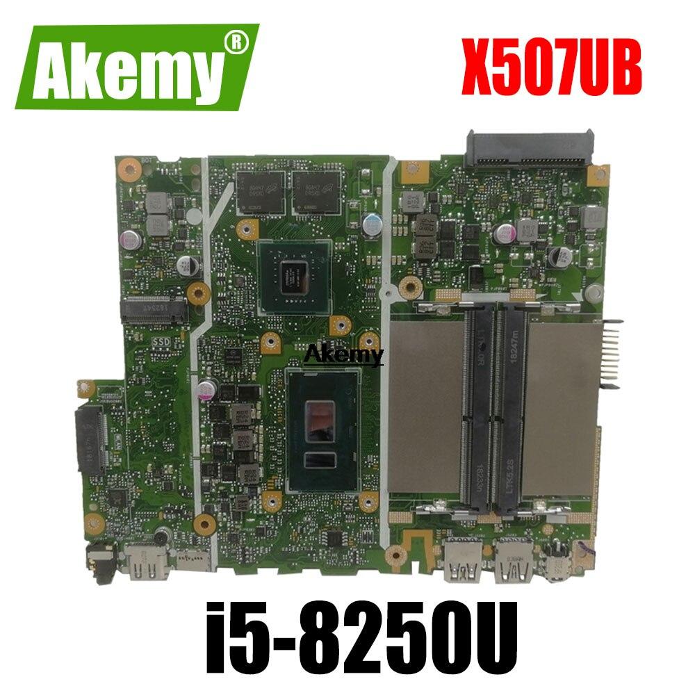 X507ub placa-mãe i5-8250U para For For For Asus x507u x507ub x507ubr computador portátil placa-mãe x507ub (troca)!