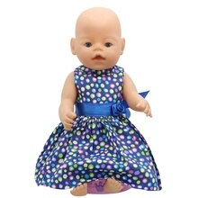 Dolls & Accessories Doll Clothes Dress Fit 18 Inch American&43 CM Reborn Baby Dolls OG Girl Doll Rus