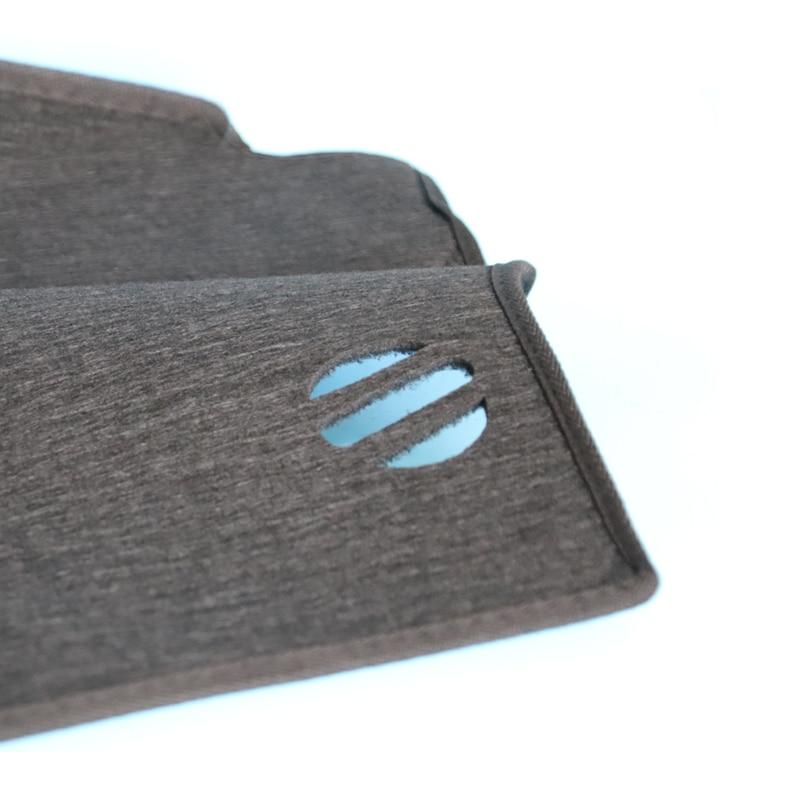 A Little Change Car dashboard cover Mats Avoid light pad Instrument platform desk Carpets For Tesla MODEL S X
