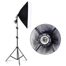 Photography 50x70CM Softbox Lighting Kits  Soft box for Flash Continuous Light System For Photo Studio Light Equipmen Equipment