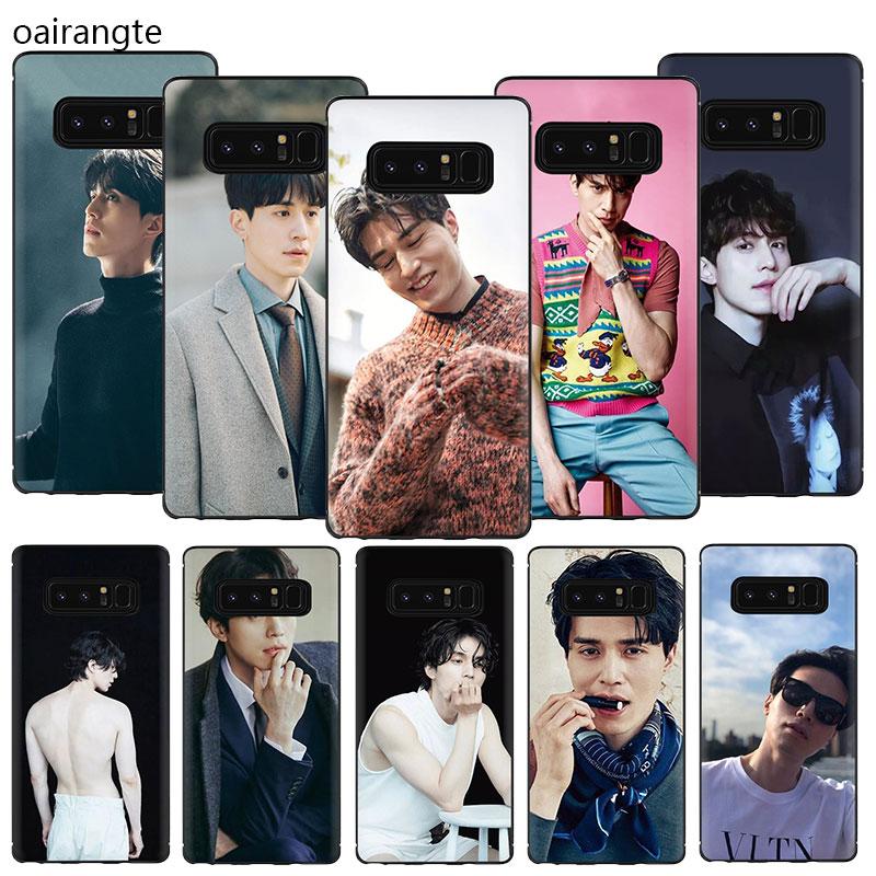 Lee Dong Wook TPU Case Capa Do Telefone Para Samsung Galaxy A2 A5 A6 7 8 9 2018 A10S 20S 20E 70 60 50 40 30S S S S
