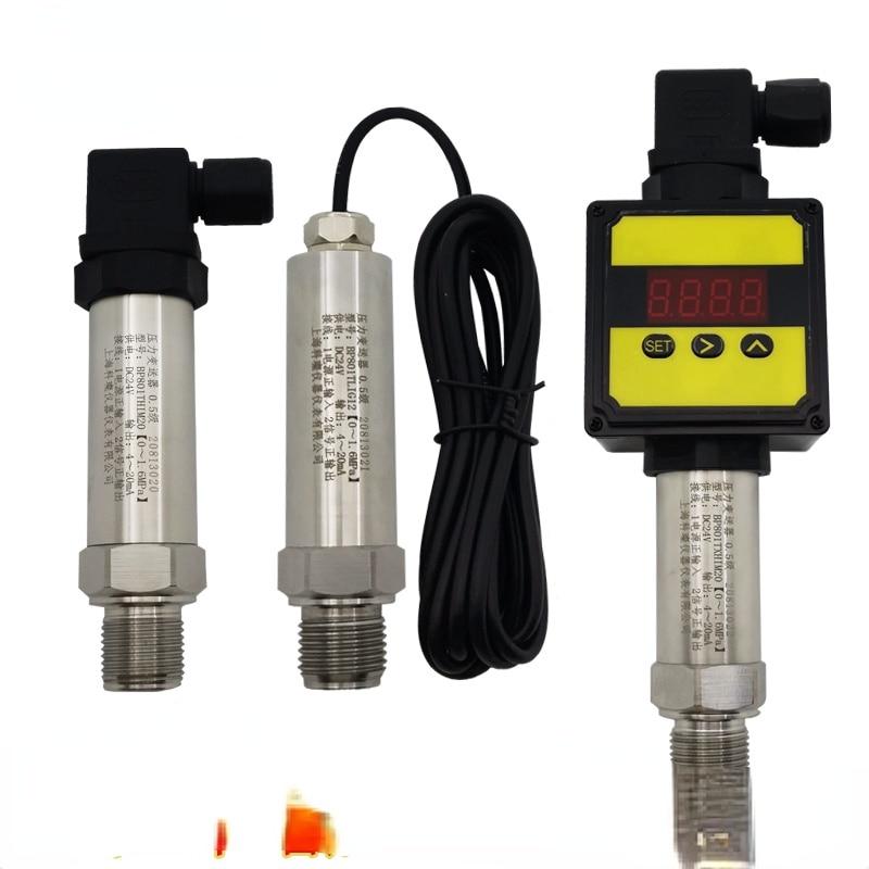BP801 جهاز إرسال الضغط 4-20mA 0-5/10 فولت RS485 الناتج السيراميك منتشر السيليكون الاستشعار 131