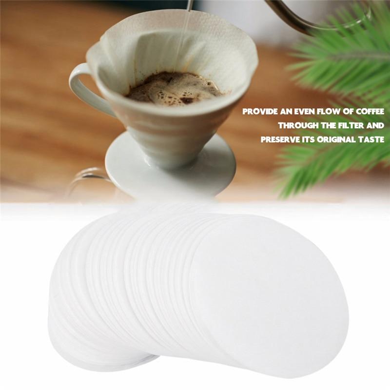 VOGVIGO 350 Uds ronda de filtro de café de papel de reemplazo profesional filtros Filtros para café Aeropress de