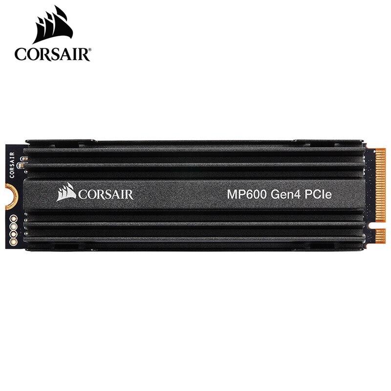 CORSAIR FORCE Series MP600 SSD NVMe PCIe Gen 4.0x4 M.2 SSD 1 to 2 to stockage à semi-conducteurs 4950 mo/s m.2 2280 ordinateur portable