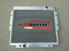 4 ROW Aluminum Radiator For FORD F350/F250/F SUPER DUTY DIESEL V8 1983-1994 93 92 91 90 89 88 87 86 85 84
