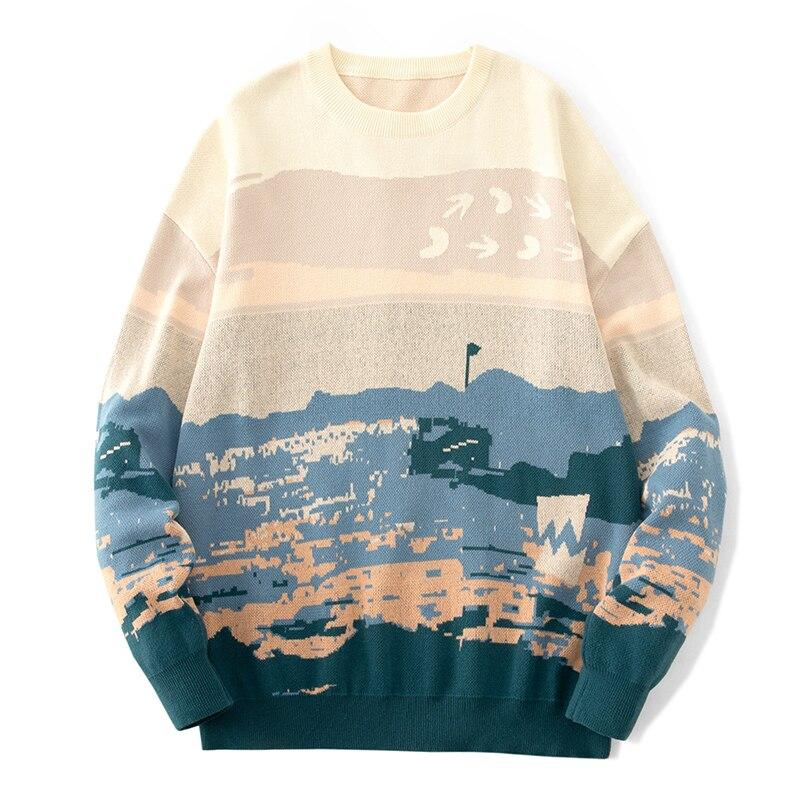 Мужской пуловер, Мужская одежда, мужские свитера, Мужская одежда, свитер для мужчин, свитер, Мужская одежда, удобная повседневная одежда 2021