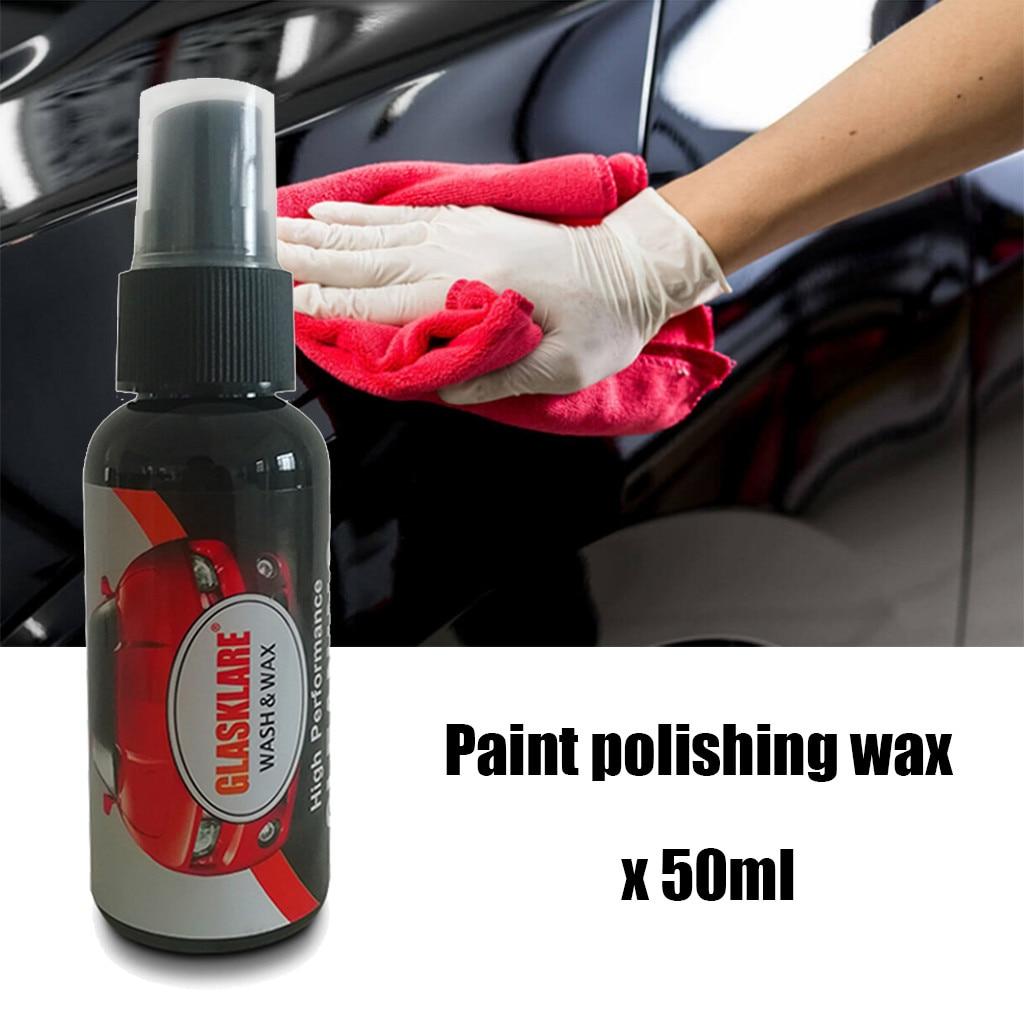 Spray para coche de 50ML, agente mágico reacondicionado, cera líquida para pulido, removedor de arañazos, agente de reparación de superficie, cuidado de la pintura