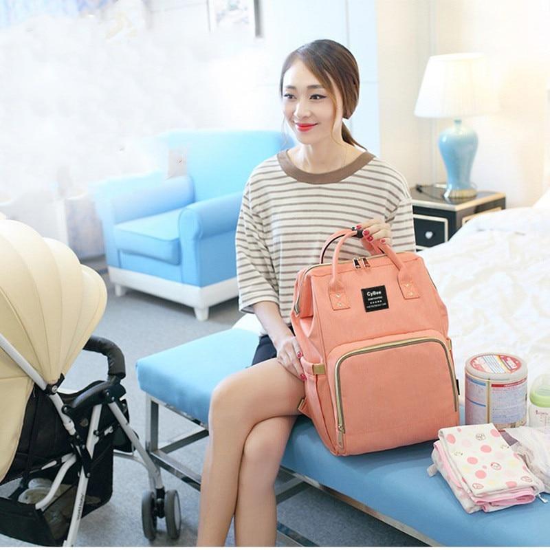 Diaper Bag Backpack Mummy Maternity/Nappy Bag Baby Bag Baby Travel Nursing Bag Baby Care Bag Wet Bag