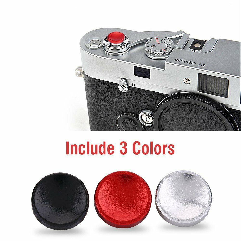 3 uds. Botón disparador cóncavo de Metal para cámara Fujifilm X-E3/X-PRO2/X-E2S/X10/X20/X30/X100/X100T/X100S/X-E1/XPRO-1