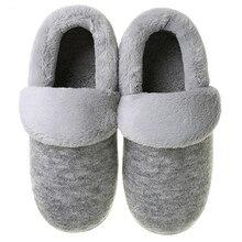 Fur Home Winter Warm Slippers for Men Furry Short Plush Man Slippers Non Slip Bedroom Slippers Coupl