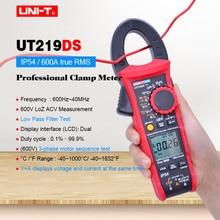 UT219DS industrial Clamp Meter;Digital Multimeter AC DC volt current  meter;3-phase motor sequence Test/LoZ Test/Low pass filter