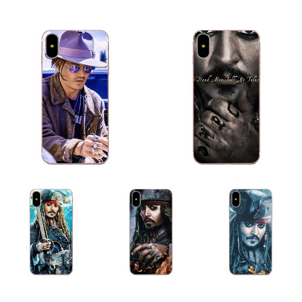 Pirates Of The Caribbean Johnny Depp For Sony Xperia Z Z1 Z2 Z3 Z4 Z5 compact Mini M2 M4 M5 T3 E3 E5 XA XA1 XZ Premium