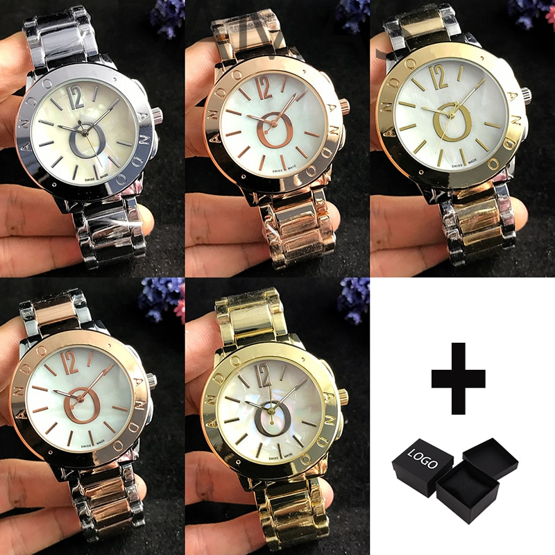 Europe and the United States gentleman Couples Quartz Watches Fashion Luxury Jewelry Gift Generous E
