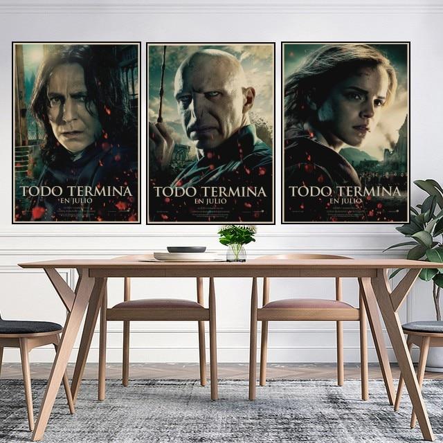 Harry quería orden indeseables No.1 cartel Retro de Kraft carteles profeta carteles casa decoración de pared para tienda A6