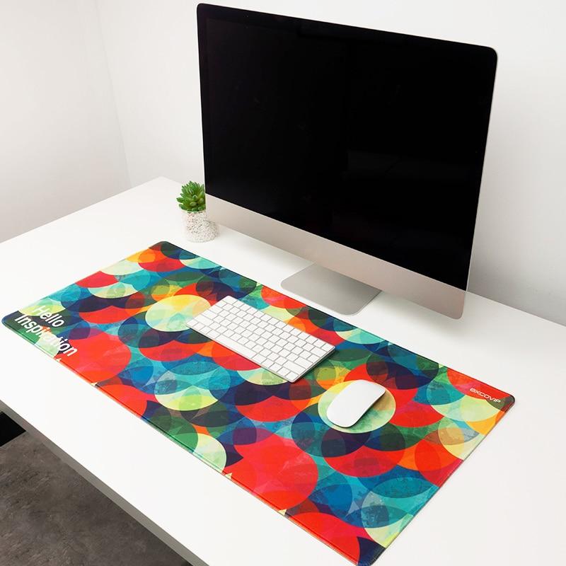 إلهام Lockedge كبير الألعاب بساط للمكتب جهاز كمبيوتر شخصي لوحة المفاتيح ألعاب ماوس حصيرة لعبة السلس Mause السجاد 90*40 سنتيمتر