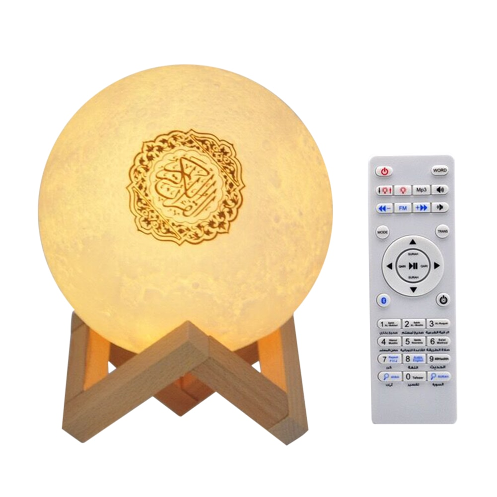 Quran  Speaker Moon Lamp APP Control Wireless Muslim Night Light Touch Lamp  Quran Speakers Koran Player enlarge