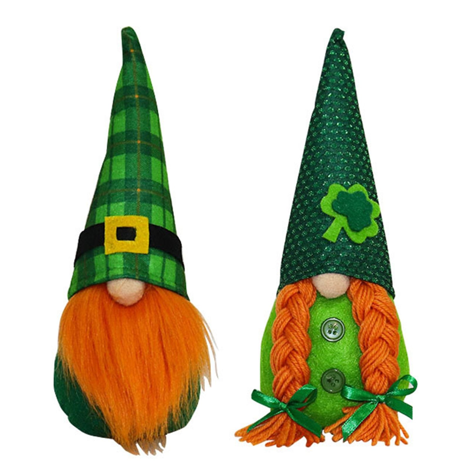 2021 Happy St Patricks Day High Quality Handmade Gnome Plush Toy Brings Good Luck Lovely Plushie Perfect Gift For Family